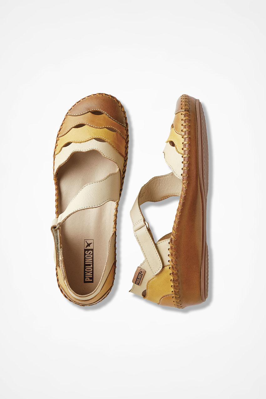"""54b0ce3463b Madrid"""" Leather Flats by Pikolinos® - Coldwater Creek"""