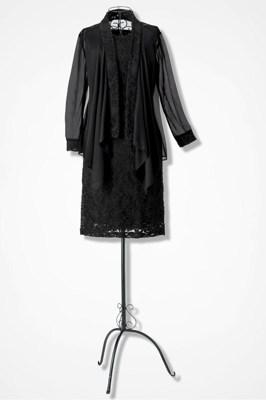 Lace Chiffon Jacket Dress By Tiana B Coldwater Creek