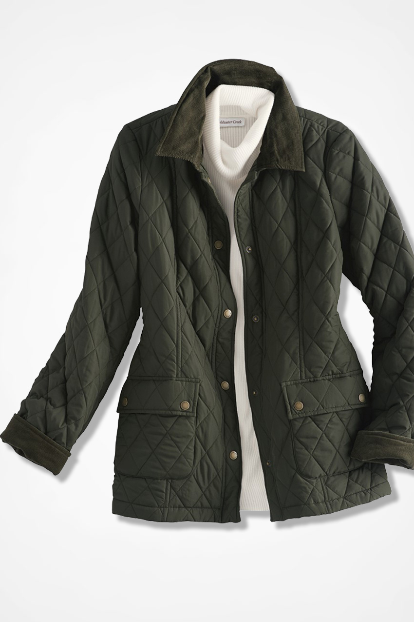 Quilted Barn Jacket - Coldwater Creek