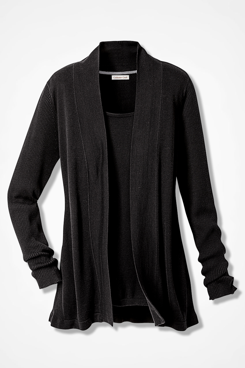 Classic Open Front Cardigan - Coldwater Creek