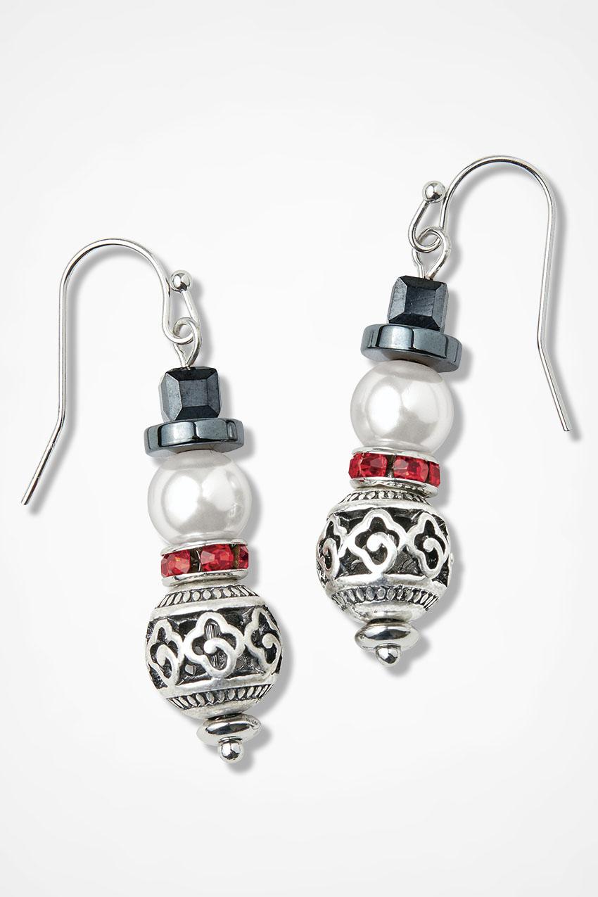 Festive Jack Frost Earrings