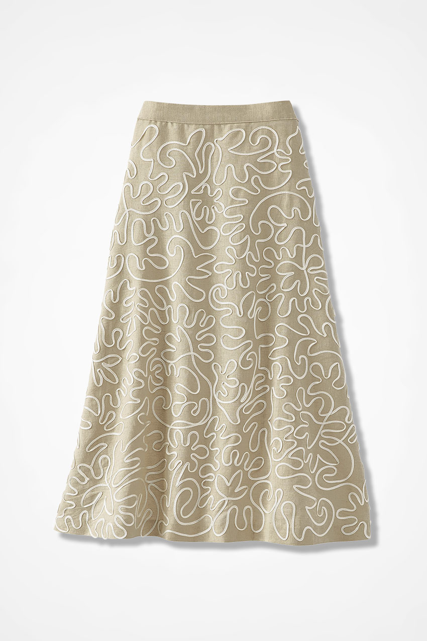 98c7ad5fd3 Dimension Linen Skirt - Coldwater Creek