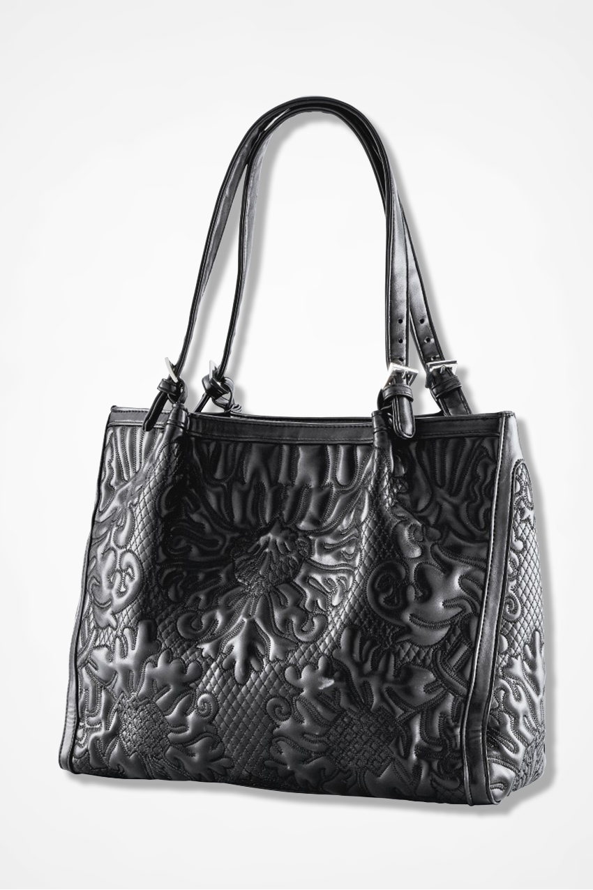 Passages Embossed Bag - Coldwater Creek dbadb9333d5f7
