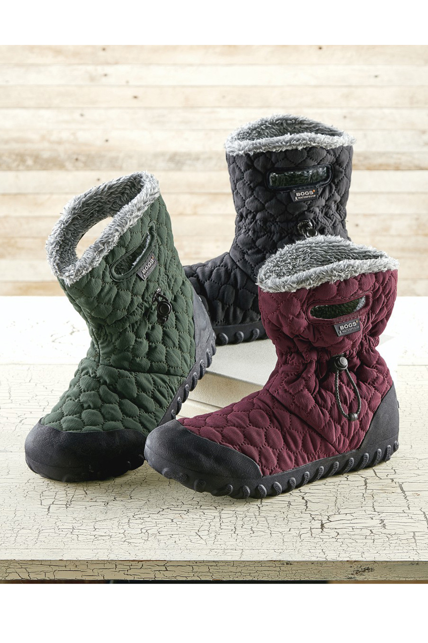 Women's B-Moc Quilt Puff Snow Boot