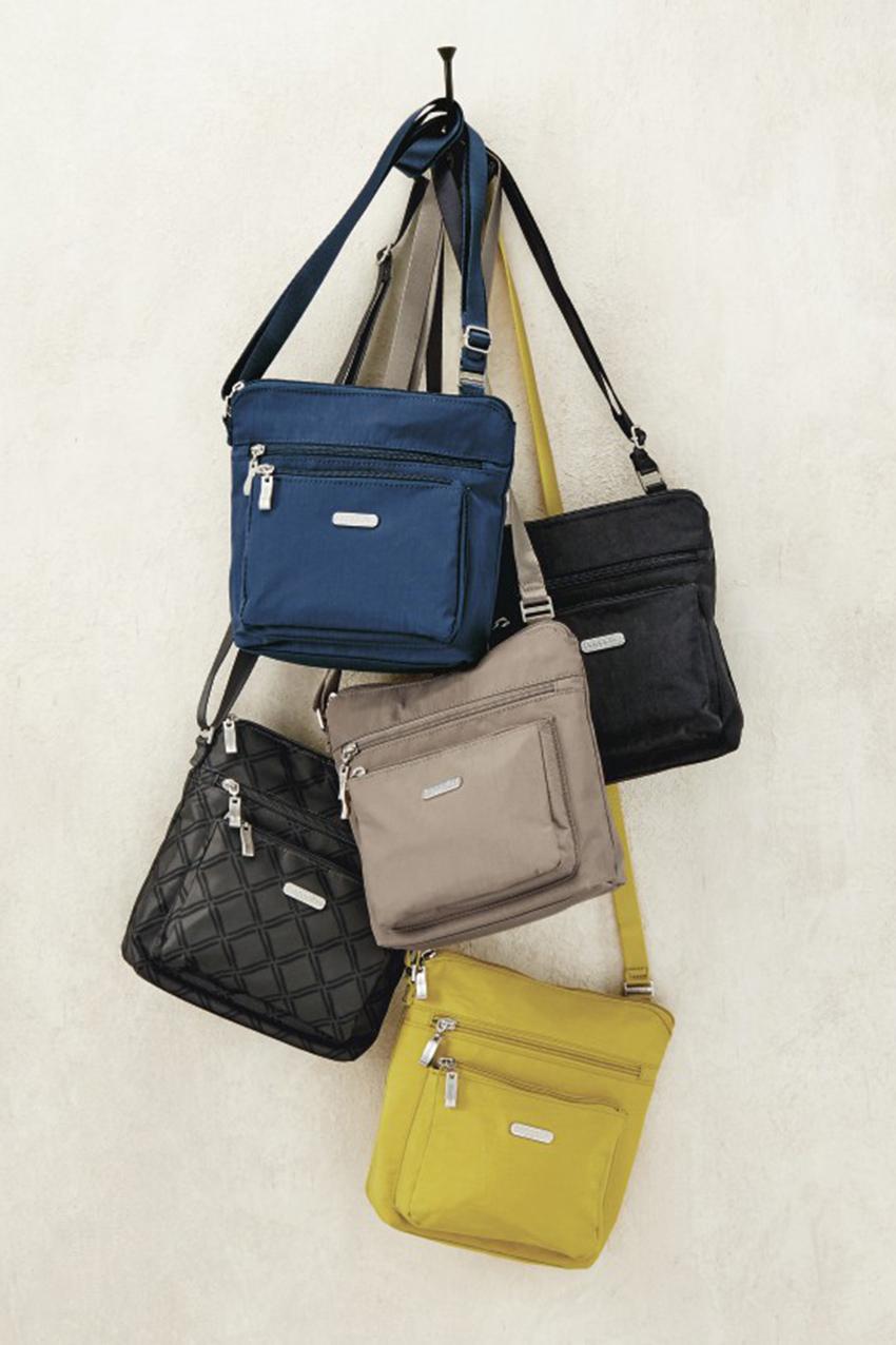 Pocket Crossbody Bag By Baggallini Black Large